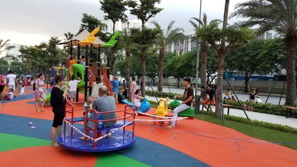 Sân chơi trẻ em Park 10 Times City