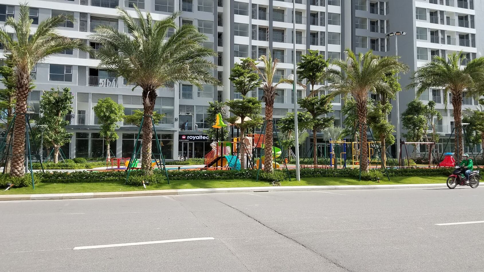 Sân chơi trẻ em Park 10, Times City Park Hill Premium