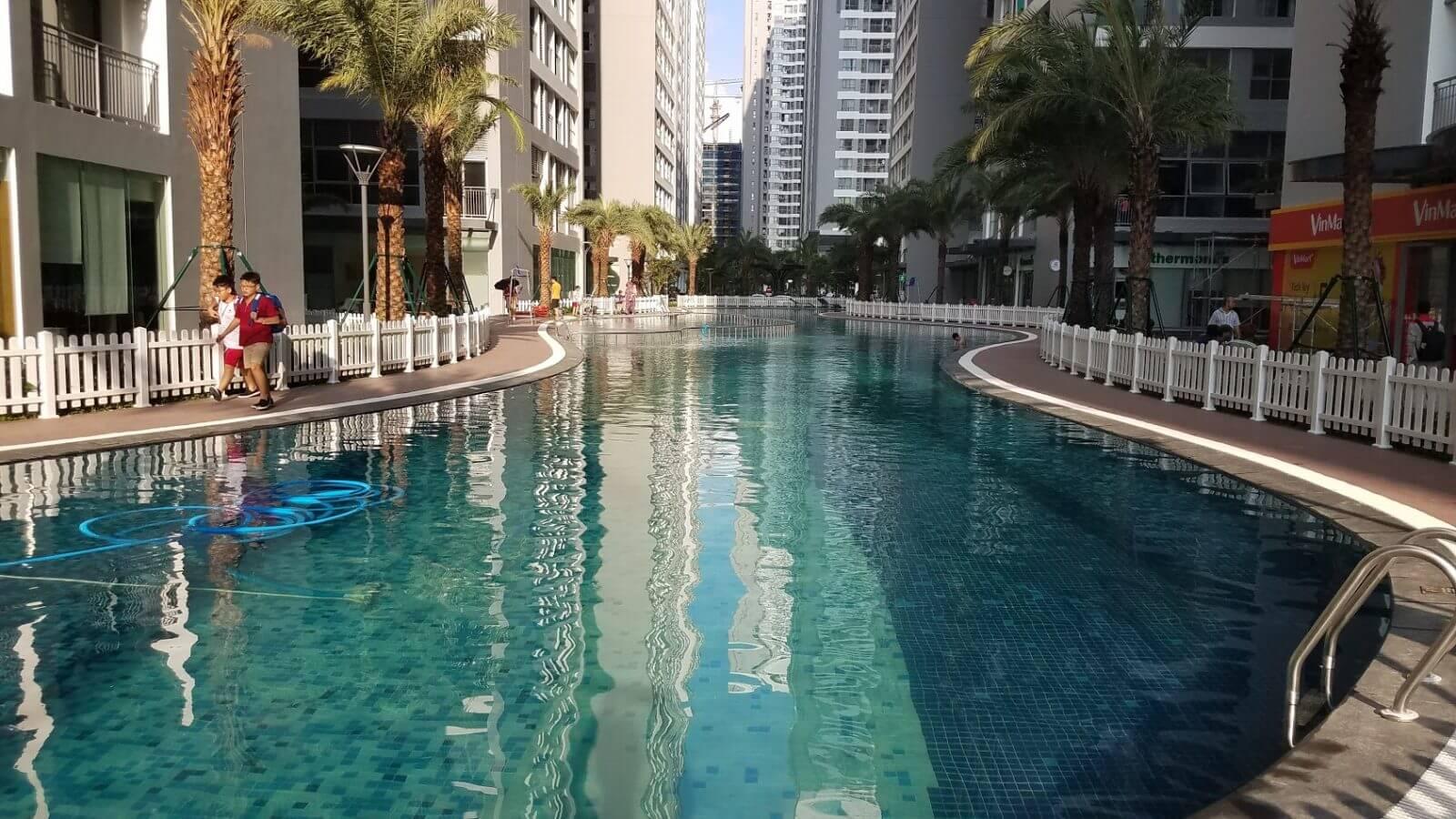 Bể bơi Park Hill Premium